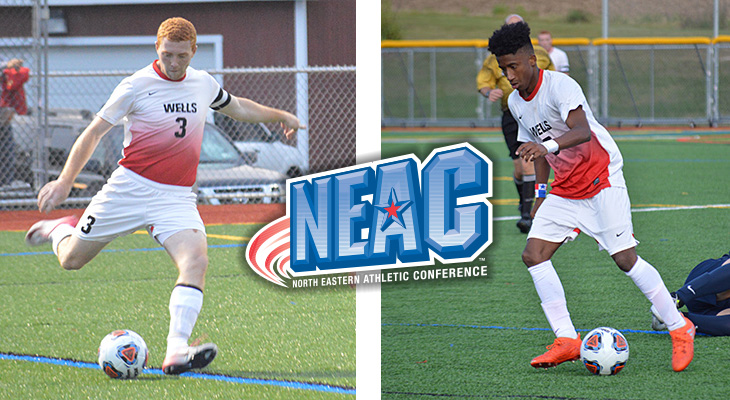 Men's Soccer Players Earn All-NEAC Honors