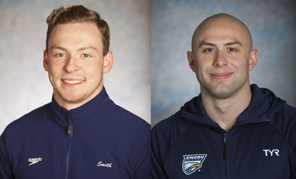 Emory Men's Swimming And Diving Duo Of Tollen & Smith Named NCAA Postgraduate Scholarship Recipients