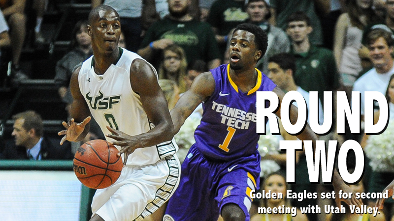 Golden Eagles wrap up non-conference schedule at Utah Valley