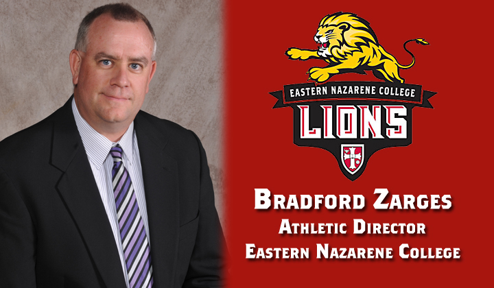 Eastern Nazarene College Names Bradford Zarges Athletic Director