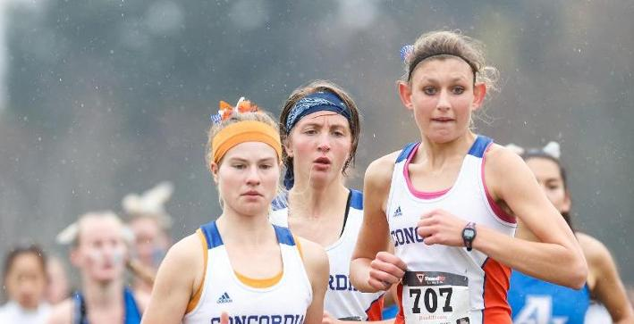 Women's Cross Country saves best for last at NCAA Midwest Regional