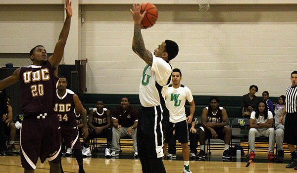 Le Moyne Pulls Away Late to Defeat Wilmington Men's Basketball