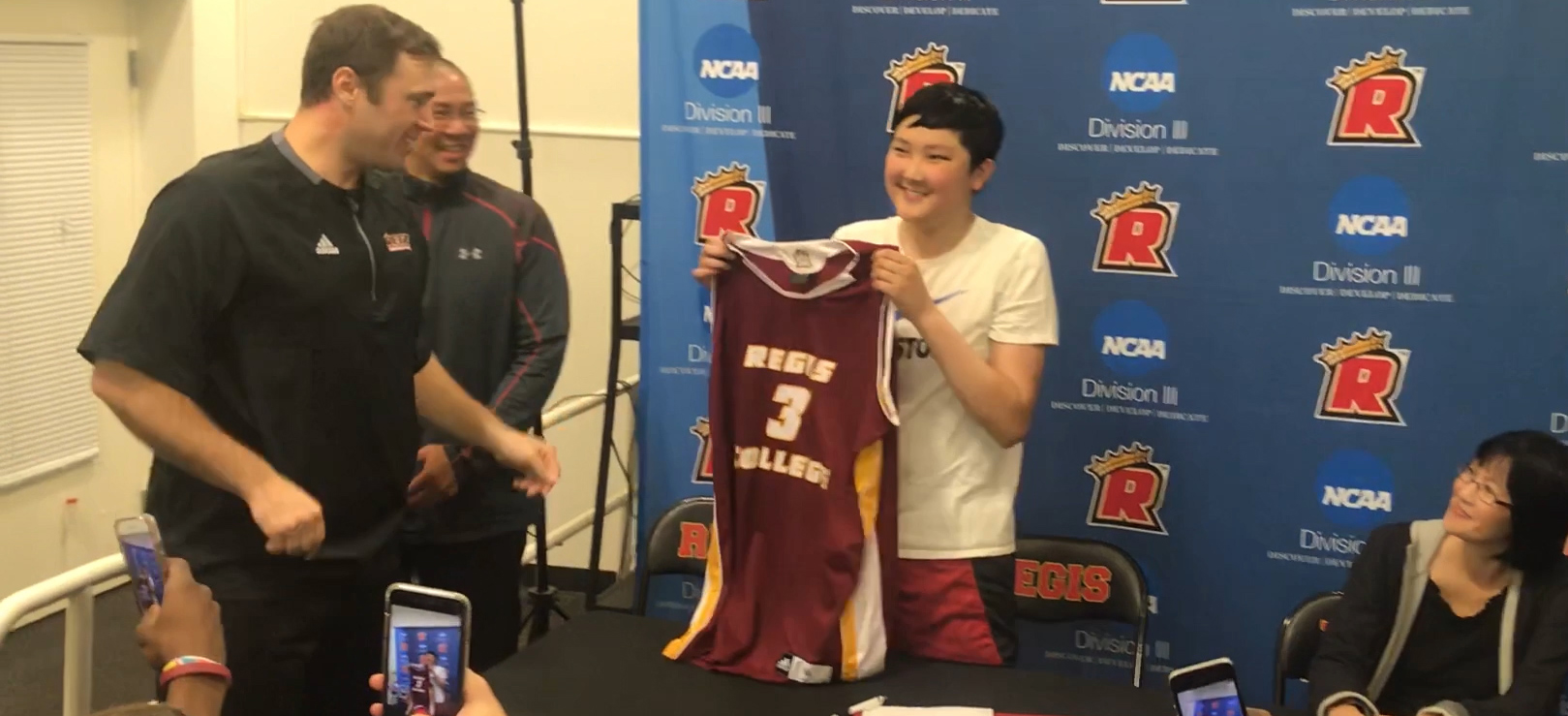 Jarod Woo Joins Pride Men's Basketball Through Team IMPACT