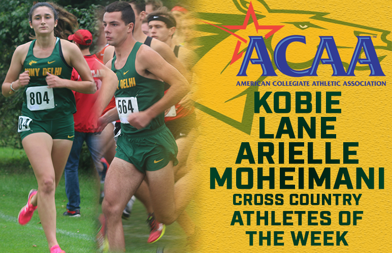 Moheimani, Lane Sweep ACAA Weekly Awards for Second Time