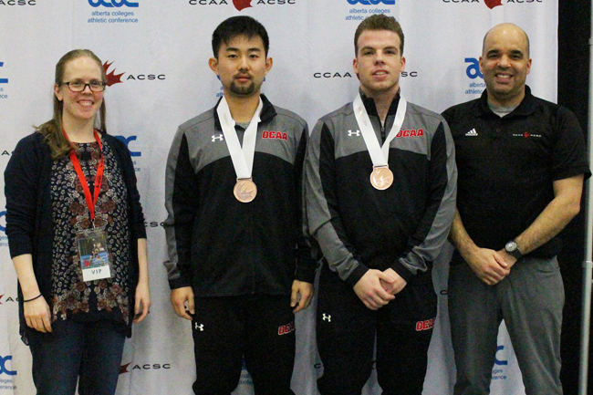 KERN AND ZHAO WIN BRONZE AT BADMINTON NATIONALS