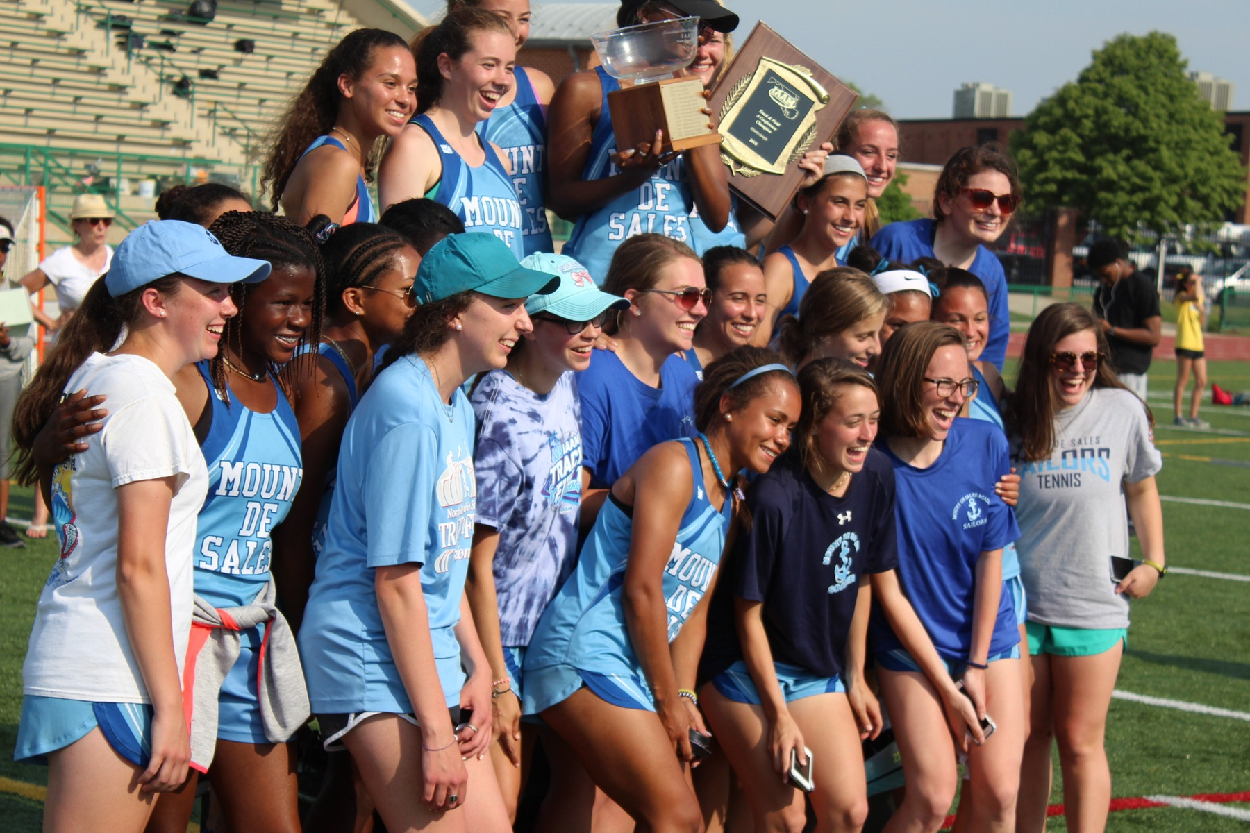 A Conference track and field title goes to Mount de Sales