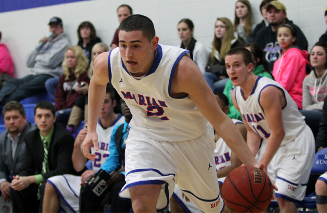 Men's Hoops Sweeps Season Series From MSOE