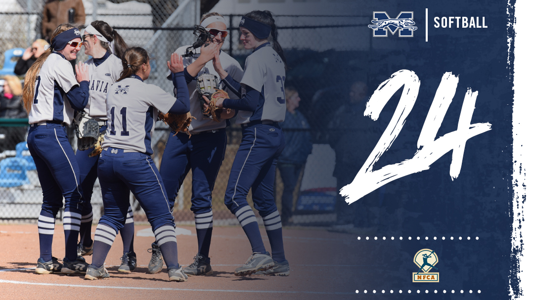 Moravian softball No. 24 in latest NFCA Division III Top 25 Poll.