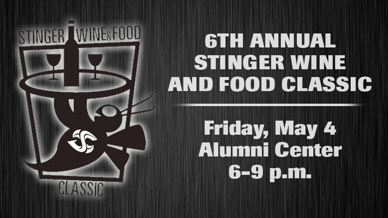 LIMITED TICKETS AVAILABLE FOR STINGER WINE AND FOOD CLASSIC ON MAY 4