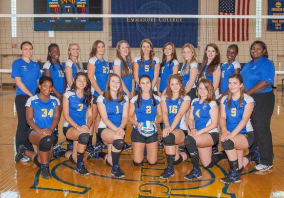 2012 Women's Volleyball Roster - Emmanuel College ...