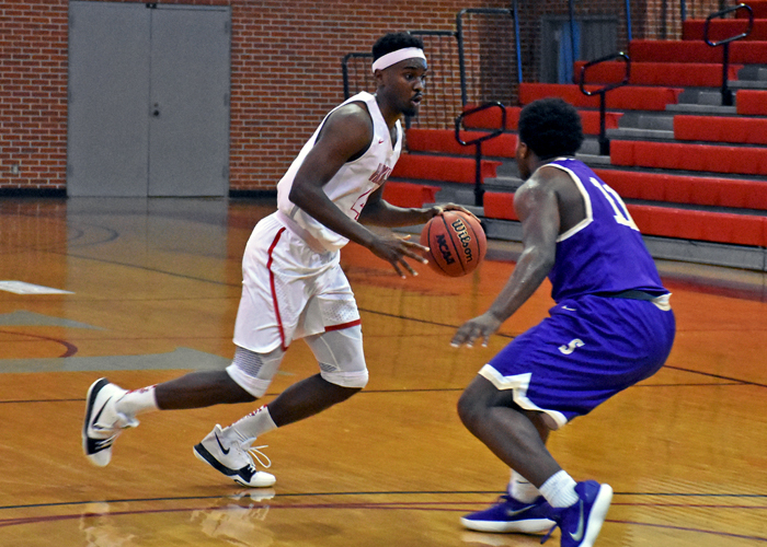 Brandon McLean recorded his second straight double-double in Wednesday's loss at Piedmont. McLean finished with 17 points and 11 rebounds.