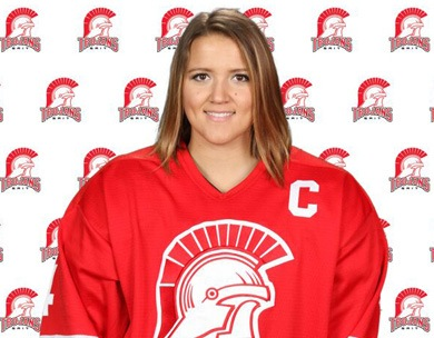 Cora Sutton goes back-to-back with ACAC Women's Hockey Top Scholastic Achiever Award