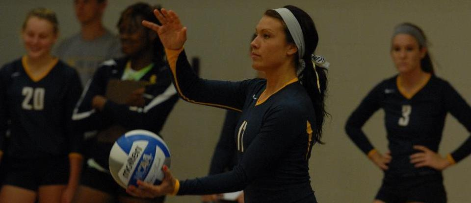 Volleyball Split Two Five-Set Matches