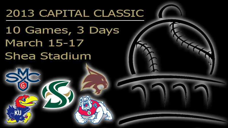 SOFTBALL HOSTS 21ST-ANNUAL CAPITAL CLASSIC THIS WEEK