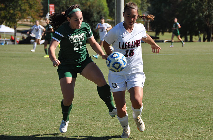 Women's Soccer: Panthers, Piedmont battle in USA South match
