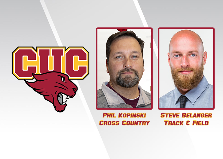 Steve Belanger has been named head track and field coach at Concordia University Chicago. Current CUC head track and field coach Phil Kopinski remains head cross country coach and will assist with the track and field program as a distance coach.