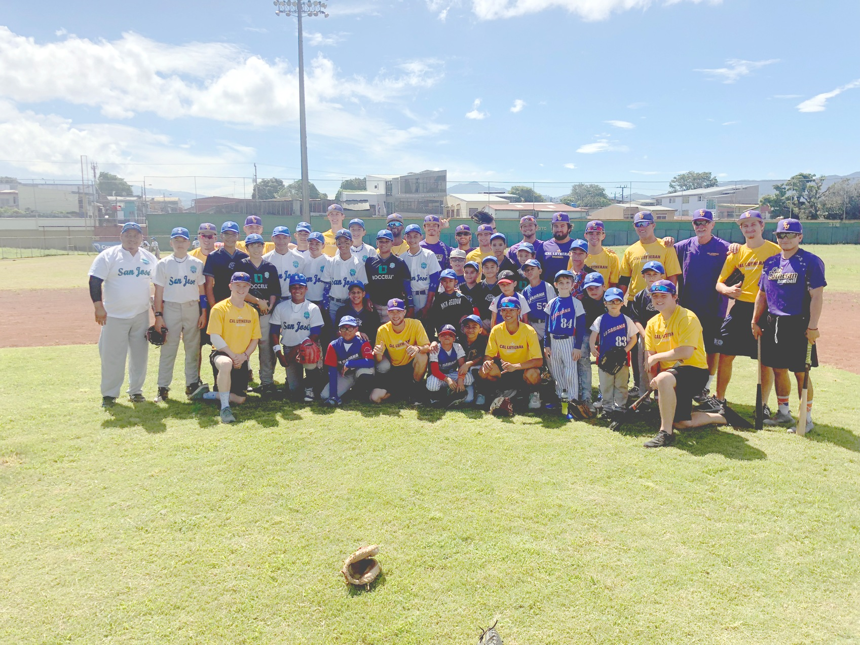 Kingsmen Baseball Takes On Central America