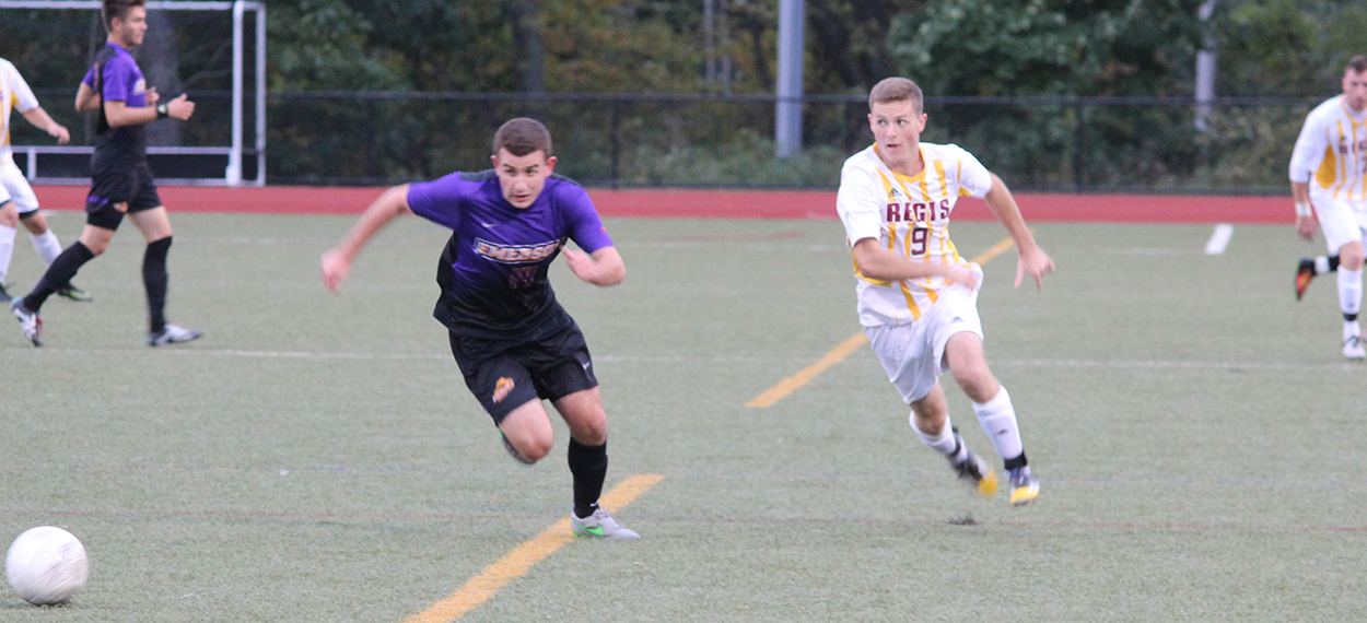 Men's Soccer Suffers Sudden Victory Loss To Lesley