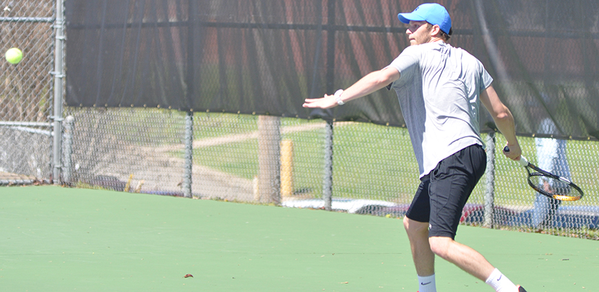 Men's Tennis Team Opens ASC Play With Loss