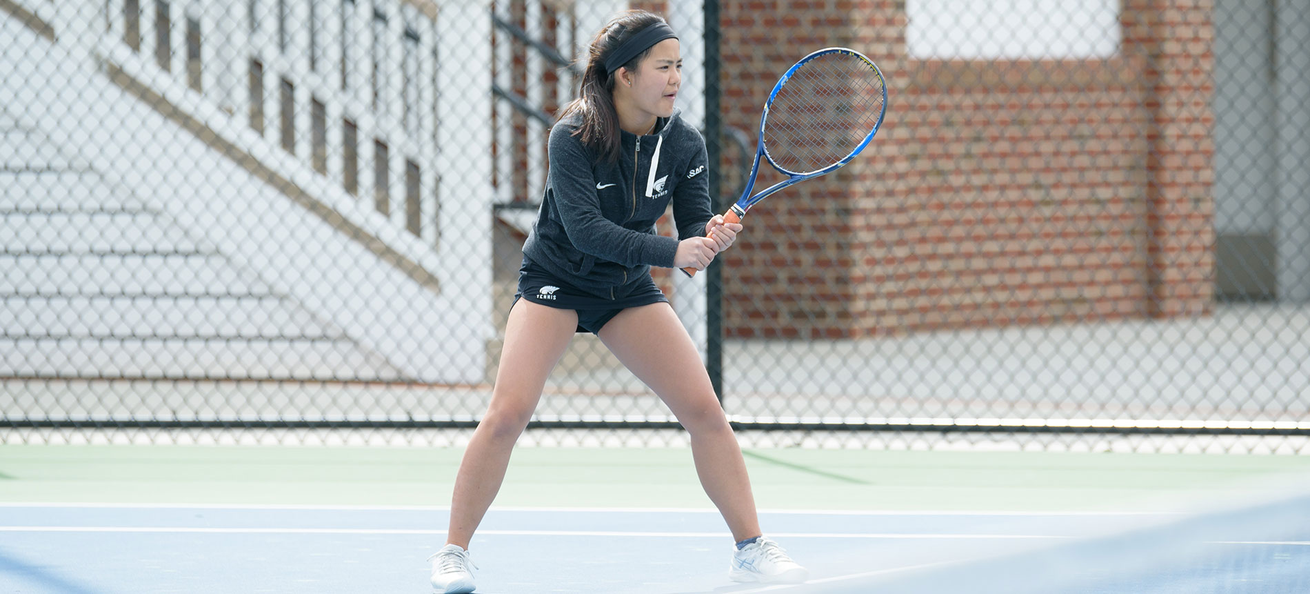 Women's Tennis Open Fall Play with Win Over Converse; 7-0
