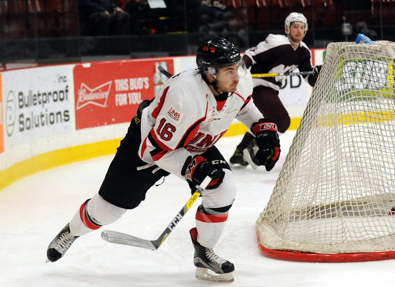 Philippe Maillet, a fourth-year forward from the UNB Varsity Reds, was named the U SPORTS Player of the Year in men's hockey, Wednesday night.