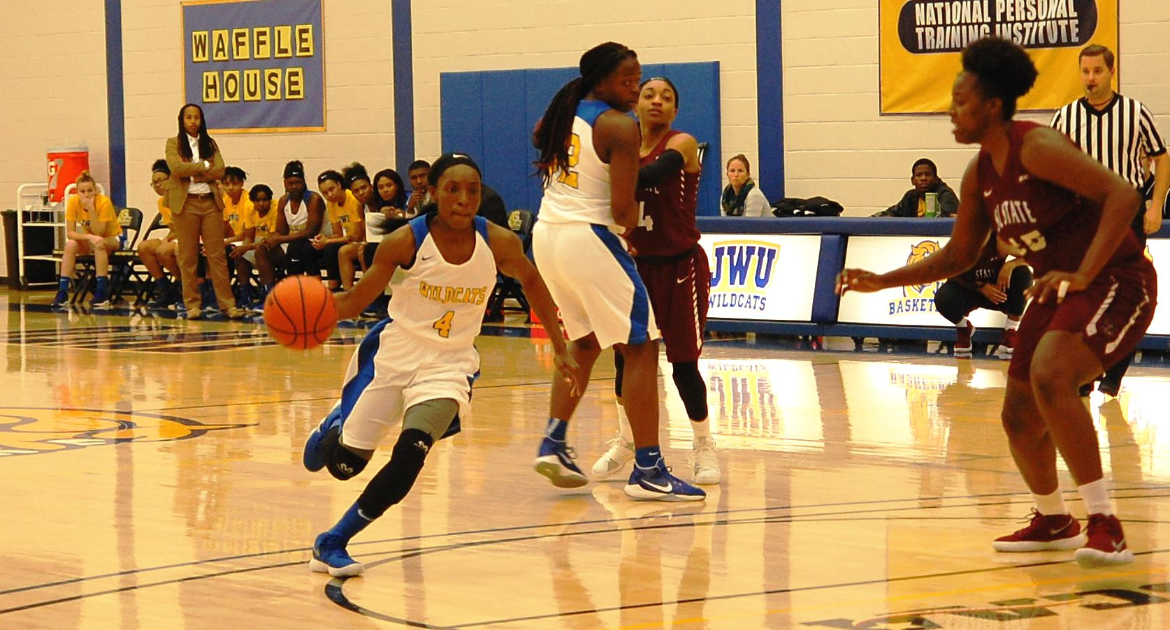 Women's Basketball Dominant On Road