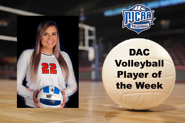 DAC Volleyball Player of the Week (Oct. 2)