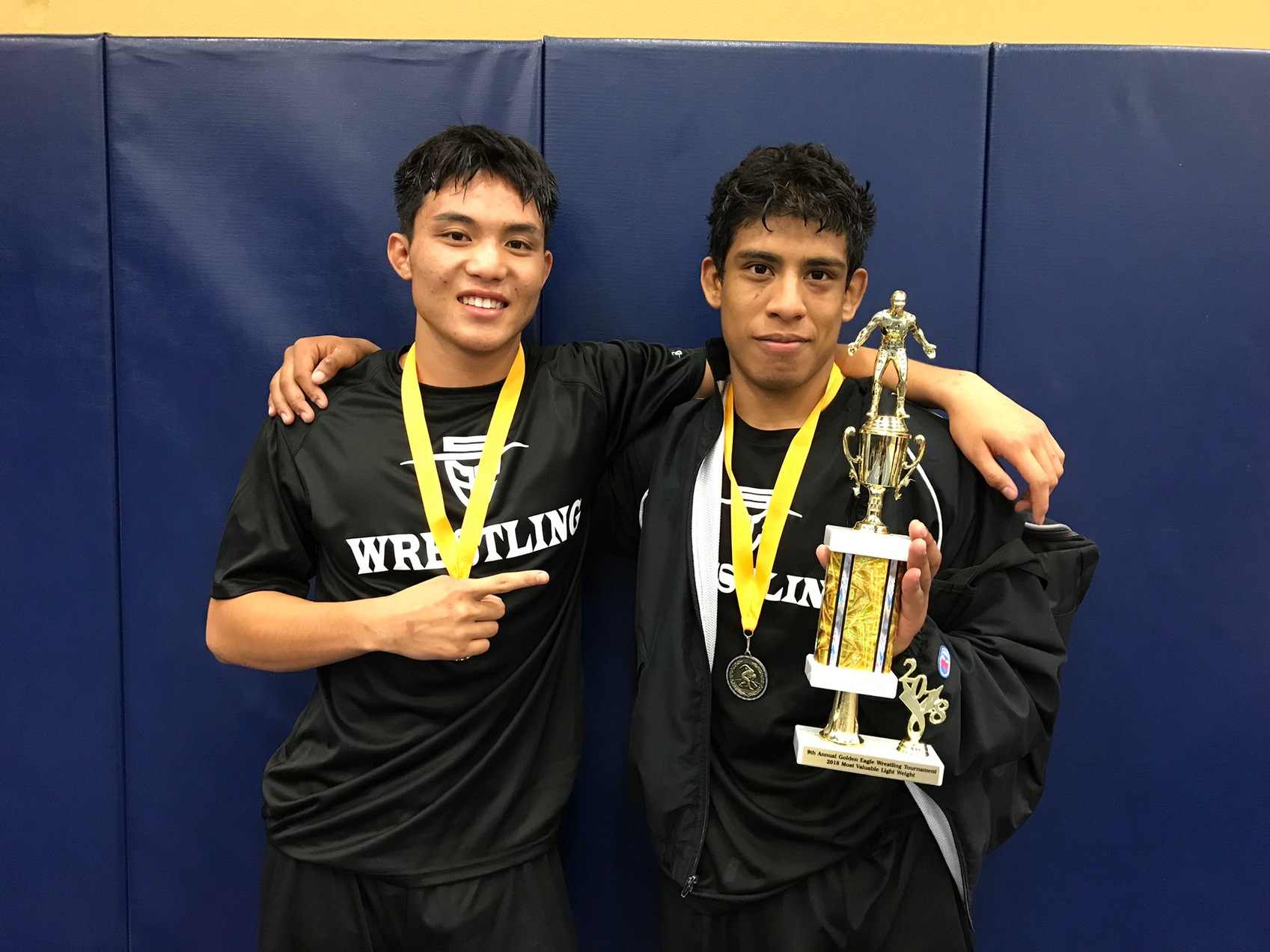Fuentes and Rivero Shine as Dons Place Sixth in West Hills Tournament