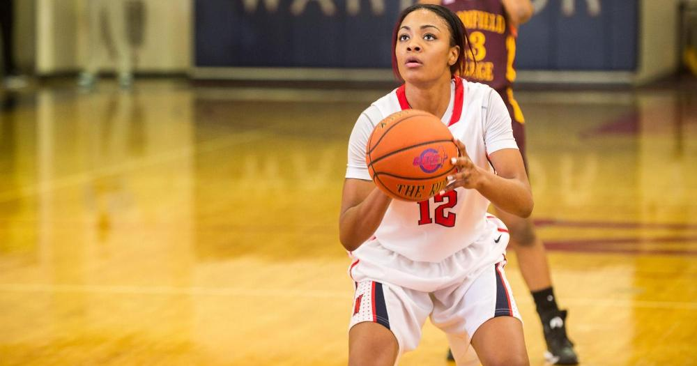 Women's Basketball Garners First CACC Win Against Post