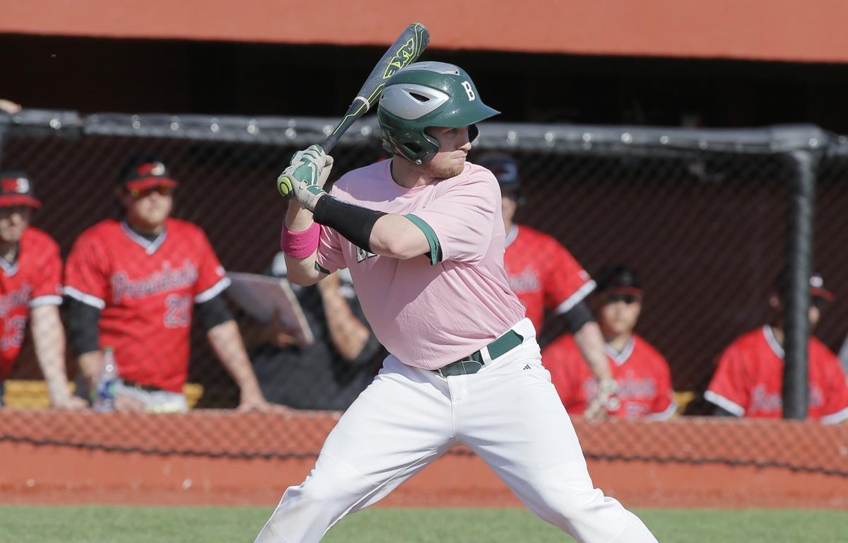 Walk off propels Bison to split with Muskingum