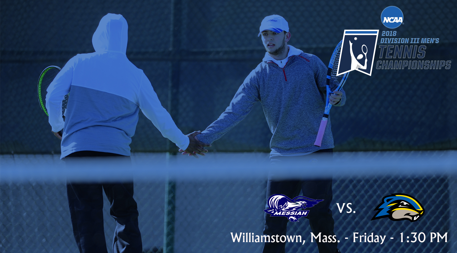 Men's Tennis Set for NCAA First Round Match-Up with Messiah
