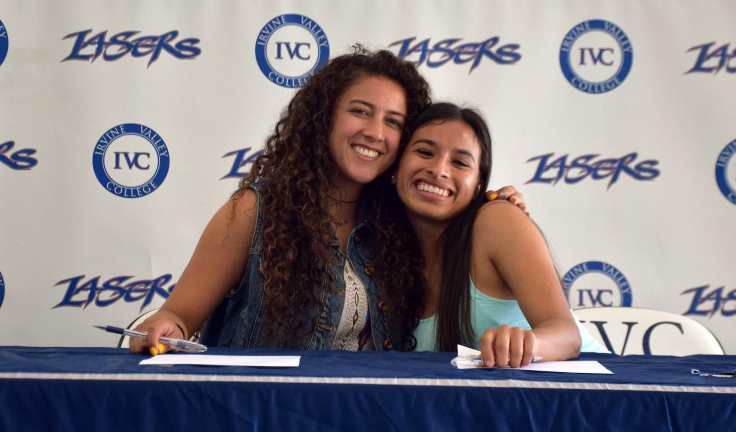 Two women's soccer players sign with Missouri Valley College