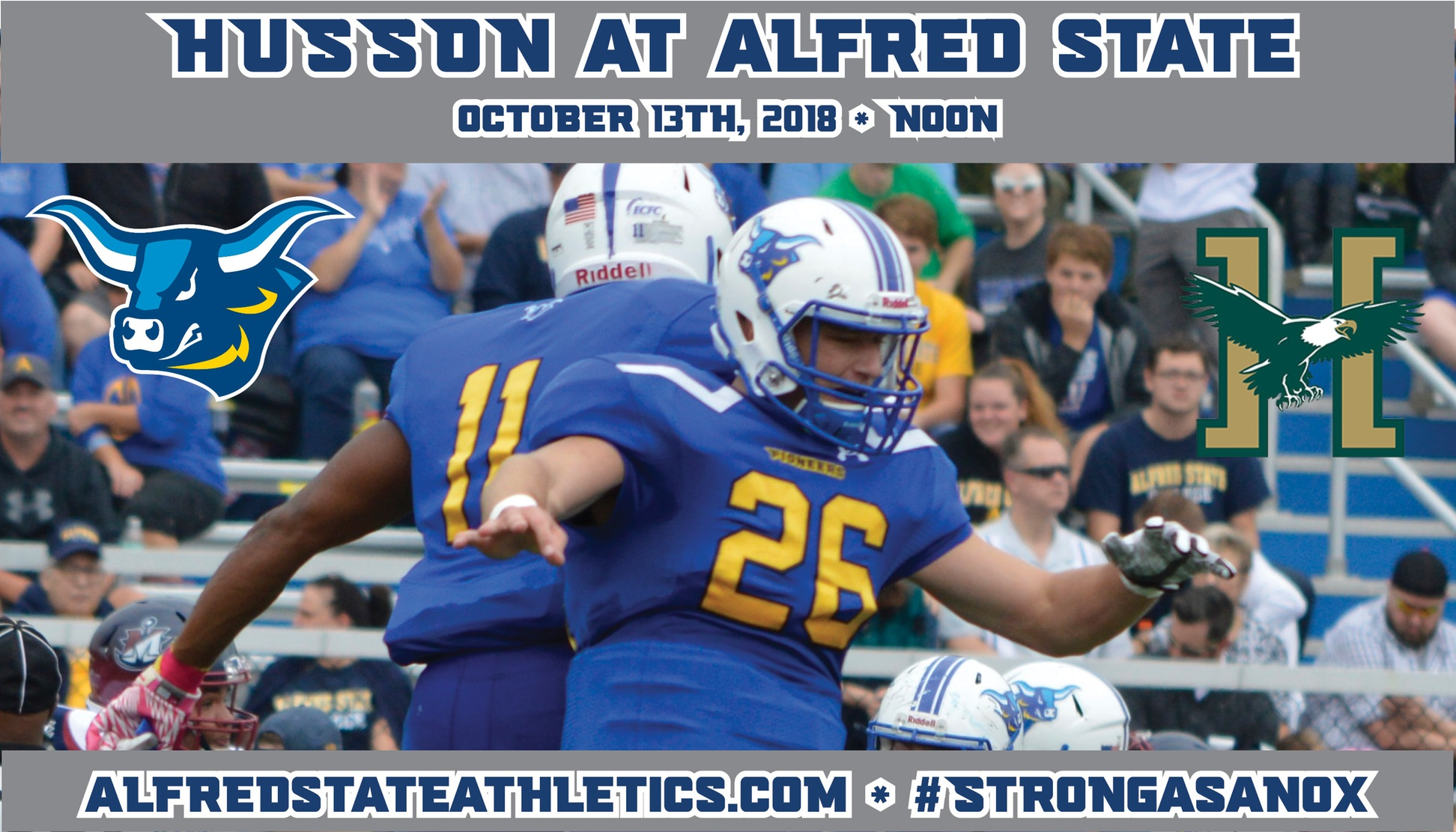 Alfred State hosts Husson on Saturday afternoon
