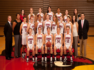 Cardinals ring in 2011 by hosting CUA/Fairfield Inn Tourney
