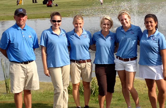 Women's Golf in Fifth After Two Rounds at Championship