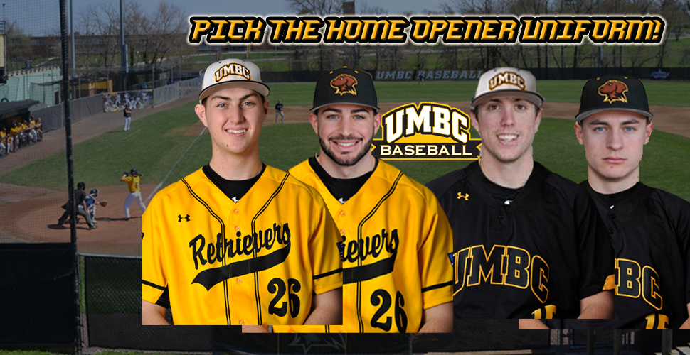 Help Choose the Jersey Combo for UMBC Baseball's Home Opener