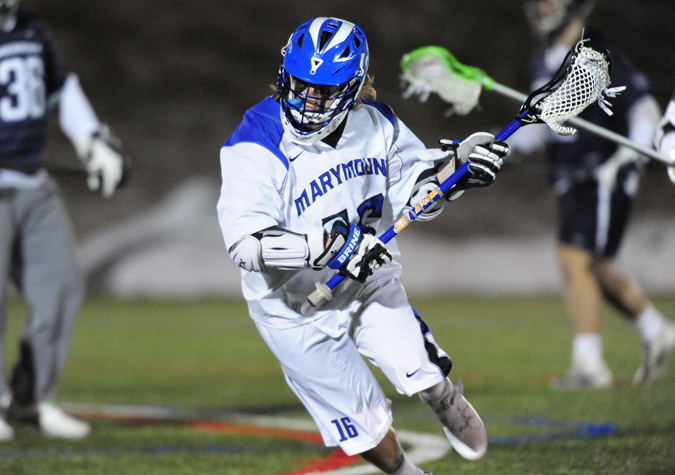 Men's Lacrosse Edged in CAC Opener