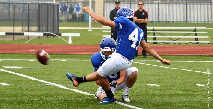 Gonzalez named NACC Special Teams Student-Athlete of the Week