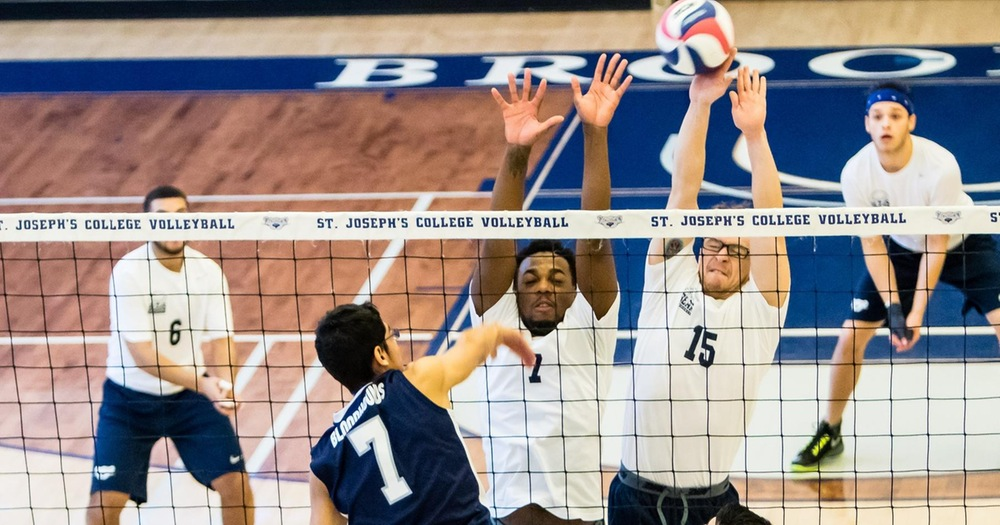 Men's Volleyball Wraps Up Season Series With John Jay
