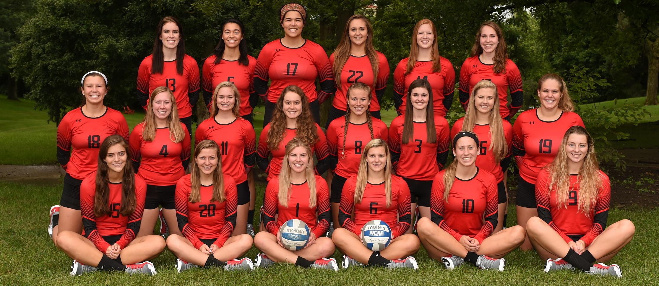 2016 Wittenberg Volleyball