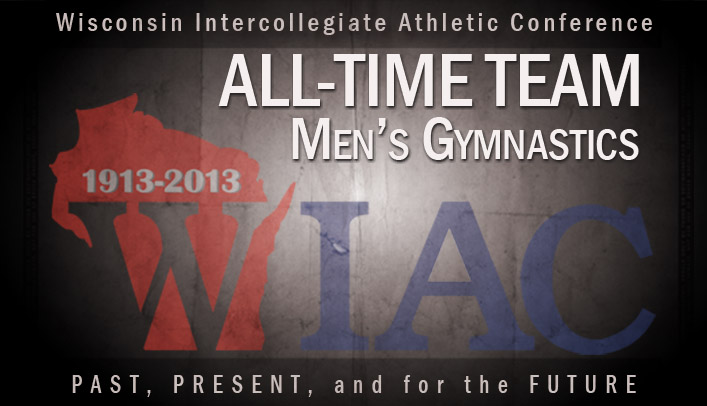 Brad Ruhland Named to WIAC Men's Gymnastics All-Time Team