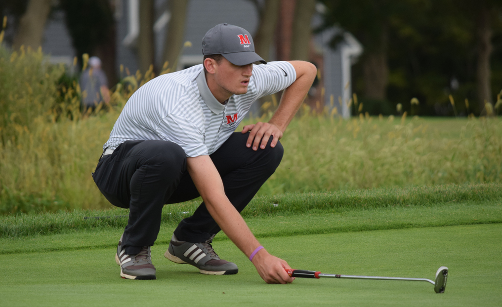 Men's Golf Sets Records in Runner-Up Finish at Emmanuel