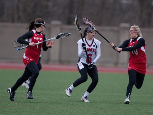 Women's lacrosse team opens season with 16-2 loss at Ohio Wesleyan