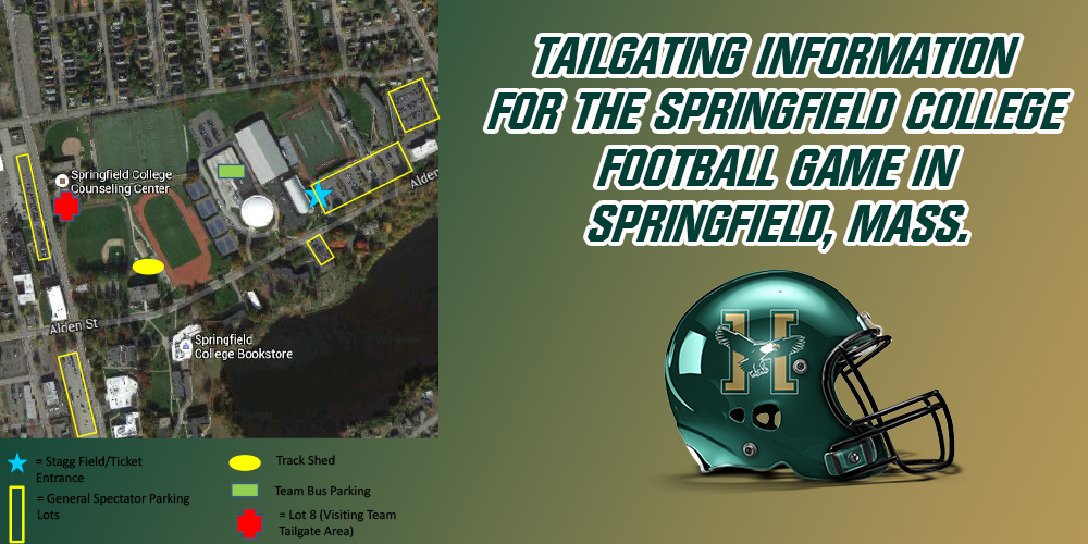 Tailgating Information for the Springfield College Football Game in Springfield, Mass.