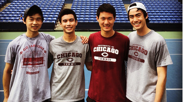 University of Chicago Men's Tennis Historic Recruiting Class, Part 1: The Road to Chicago