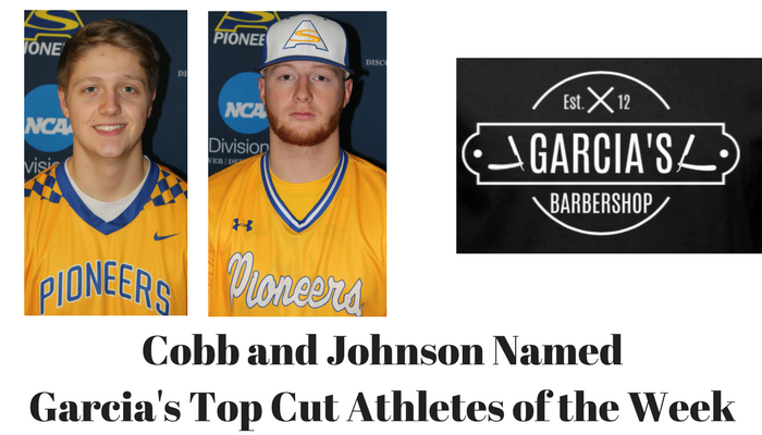 Garcia's Top Cut Athletes of the Week for April 3