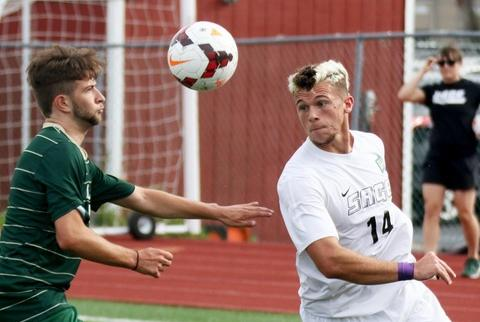 Men's Soccer Downed By Sage