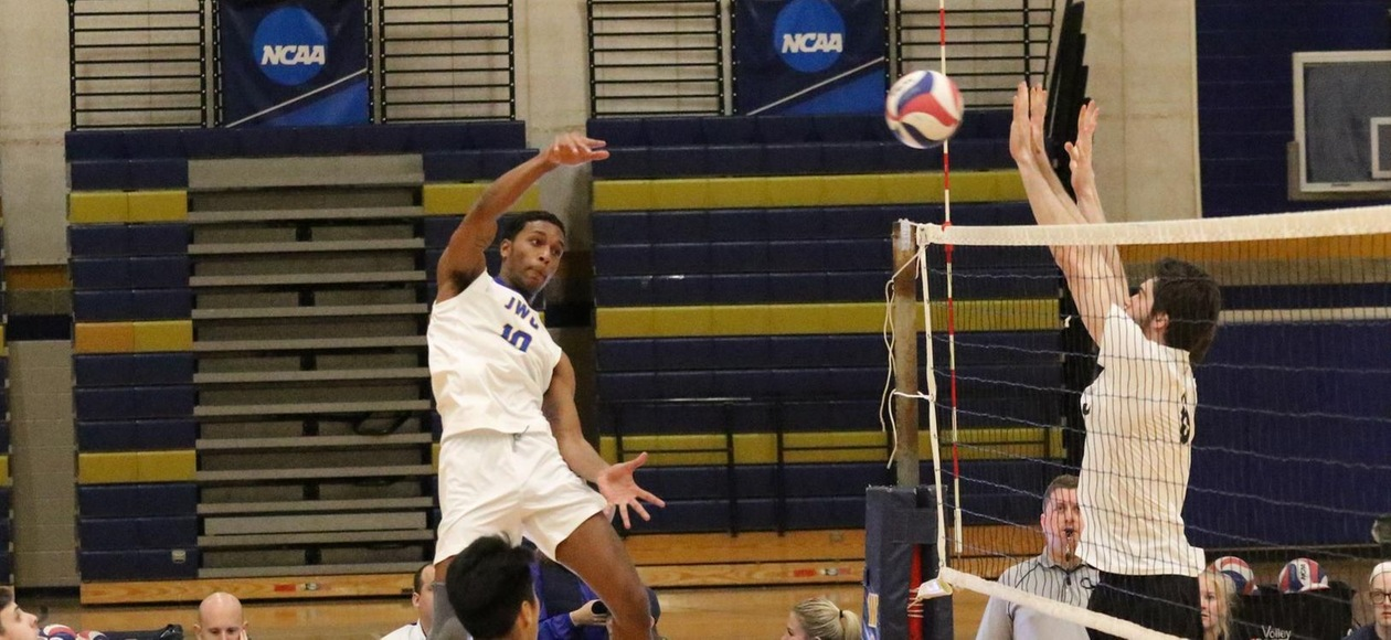 Men's Volleyball Edged by Nazareth in Season Opener 3-1