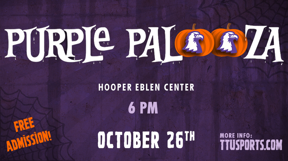 Sixth annual Purple Palooza set for Thursday, Oct. 26 at Eblen Center