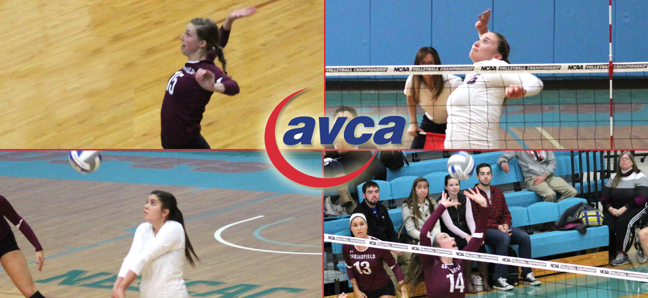 Holt Repeats As AVCA First Team All-America; Mawdsley, Helgesen, and Sanchez Garner Honorable Mention Honors